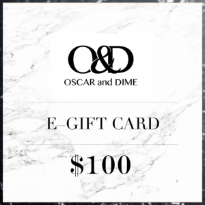 Oscar and Dime Gift Card